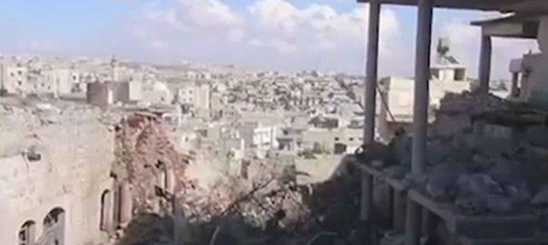 شامی فورسز ادلب حملہ بچوں 15 افراد ہلاک