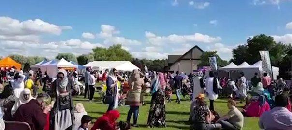 برطانیہ موسم گرما ثقافتی میلہ لندن  92 نیوز