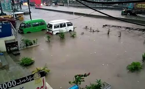 پنجاب  شہروں  وقفے وقفے  بارش  سلسلہ  جاری