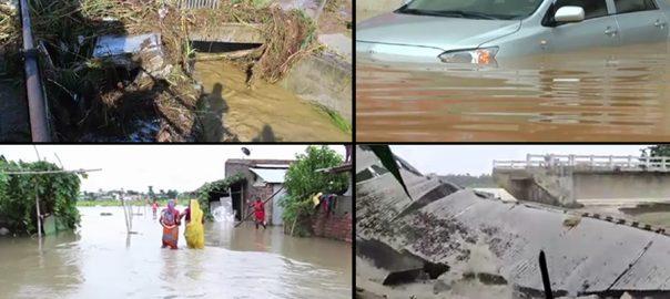 مون سون طوفانی بارشیں جنوبی ایشیا نئی دہلی  92 نیوز نیپال چین  بنگلہ دیش  درجنوں افراد ہلاک  مغربی یونان 