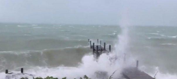 سمندری طوفان  ڈورین بہاماز  نیو یارک  92 نیوز