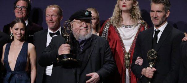 ایمی ایوارڈز گیم آف تھرونز بہترین ڈرامہ لاس اینجلس  92 نیوز امریکی شہر  71ہویں ایمی ایوارڈز