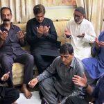 وزیراعلیٰ سندھ کی شہید میجرعدیل شاہد کے گھر آمد، شہید کے اہلخانہ سے تعزیت کی