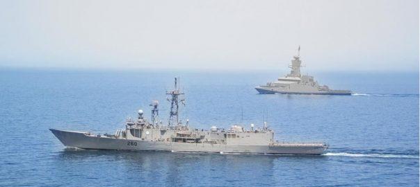 پاک بحریہ  بحری جہاز  عالمگیر  بندرگاہ صلالہ  اسلام آباد  92 نیوز