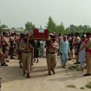 دہشتگردوں کے حملے  جوان سپرد خاک راولپنڈی  92 نیوز افغان سرحد 