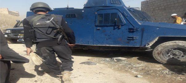کوئٹہ  سی ٹی ڈی  6 دہشتگرد ہلاک 92 نیوز خود کش حملہ آور