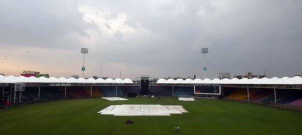 پاک سری لنکا،پہلا ون ڈے ،بارش ، منسوخ ،کراچی،92 نیوز