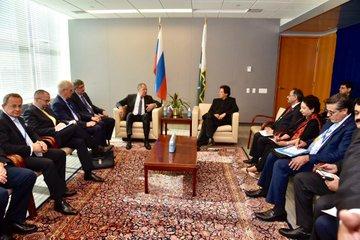 عمران خان ، روسی ، وزیر خارجہ ، ملاقات ، دو طرفہ ، تعاون ، فروغ ، تبادلہ خیال
