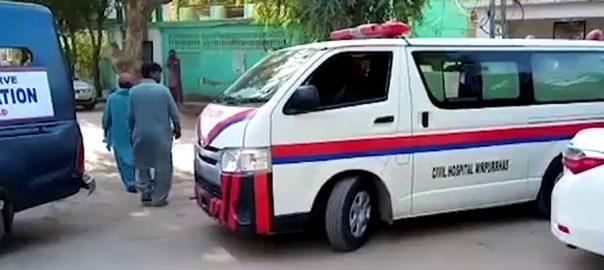 سندھ ، پنجاب ، ایمبولینسز ، نایاب