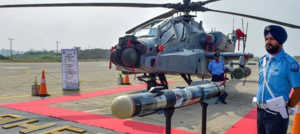 بھارتی فضائیہ  اپاچی ہیلی کاپٹر  نئی دہلی ویب ڈیسک  جنگی جنون  مودی سرکار