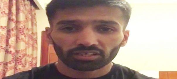 پاکستانی باکسر محمد وسیم کل رنگ میں اترنے کیلئے تیار