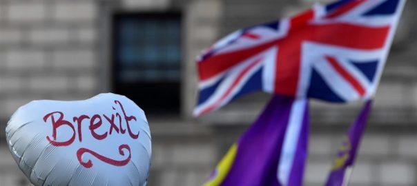 برطانوی پارلیمنٹ بریگزٹ لندن  92 نیوز چودہ اکتوبر  باغی حکومتی ارکان  بورس جانسن  یورپی یونین  پارلیمنٹ 