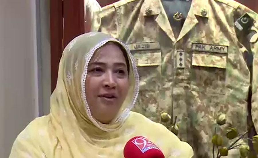 سوات آپریشن میں زندگی نچھاور کرنیوالے کیپٹن نوابزادہ جہانزیب پر اہل خانہ کو فخر