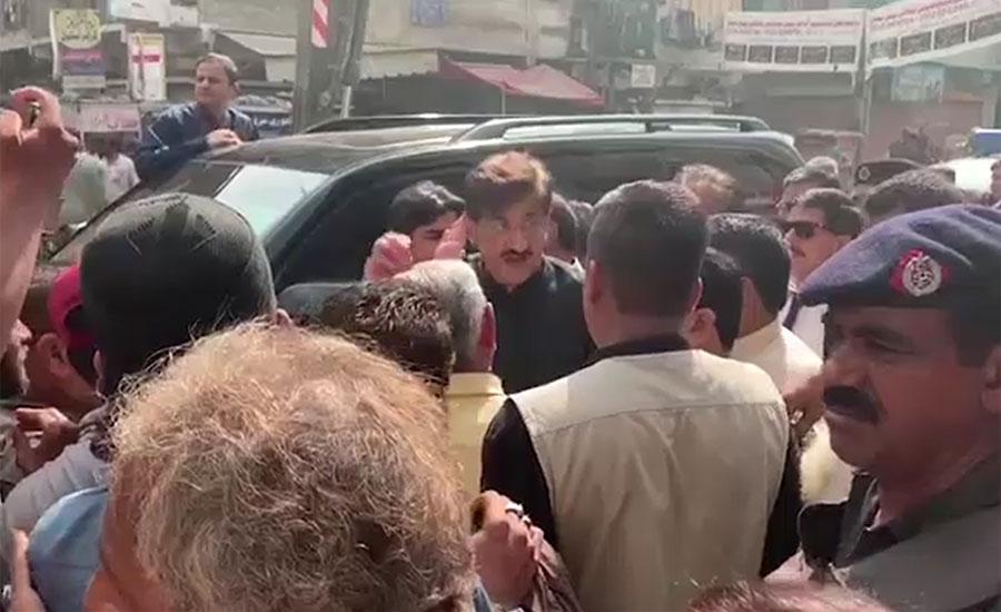 وزیر اعلیٰ سندھ کا صفائی مہم کے دوسرے دن کراچی کے مختلف علاقوں کا دورہ