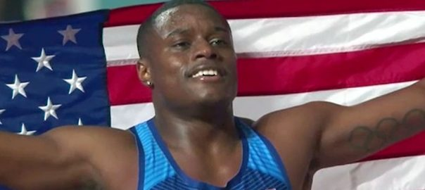 ورلڈ ایتھلیٹ چیمپئن شپ، امریکی کولمین، 100میٹر ریس ، طلائی تمغہ،دوحا،92نیوز