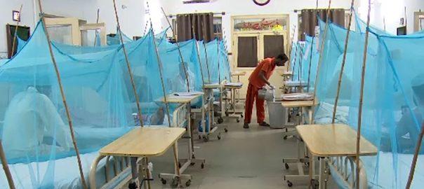 ڈینگی ، مچھر ، چار ، جانیں ، بے نظیر اسپتال ، علاج