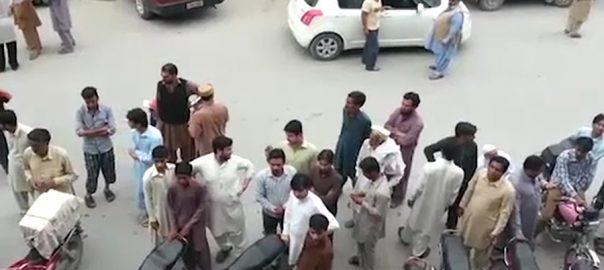 میر پور آزاد کشمیر ، جہلم ، زلزلے ، جھٹکے ، لوگ ، گھروں ، نکل