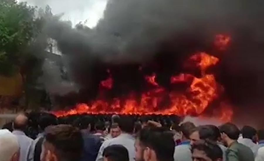 ٹائر بنانیوالی فیکٹری میں لگنی والی آگ پر قابو پالیا گیا