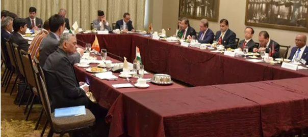 وزیر خارجہ ، شاہ محمود قریشی ، بھارتی ، ہم منصب ، تقریر ، سننے ، انکار