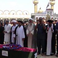شہید میجر عدیل شاہد  نماز جنازہ  سپرد خاک کراچی  92 نیوز پاک افغان بارڈر