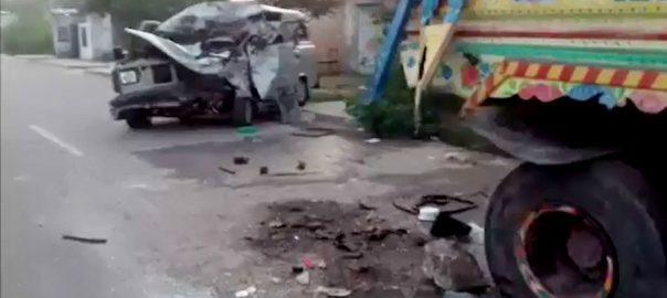 گوجرخان،کبیروالا ،ٹریفک حادثات،3 افراد جاں بحق،92 نیوز
