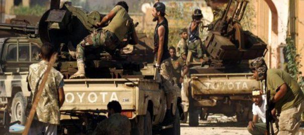 حفتر فوج جنگی طیارہ طرابلس نیٹ نیوز مشرقی لیبیا  جنرل خلیفہ حفتر