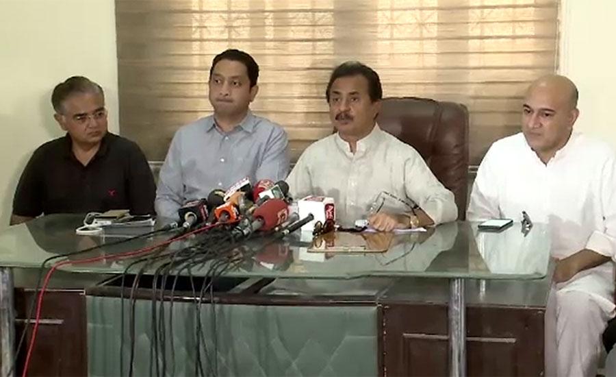 مراد علی شاہ پہلے اپنی کابینہ کا کچرا صاف کریں ، حلیم عادل شیخ