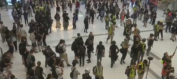 ہانگ کانگ  حکومت مخالف مظاہرے  92 نیوز