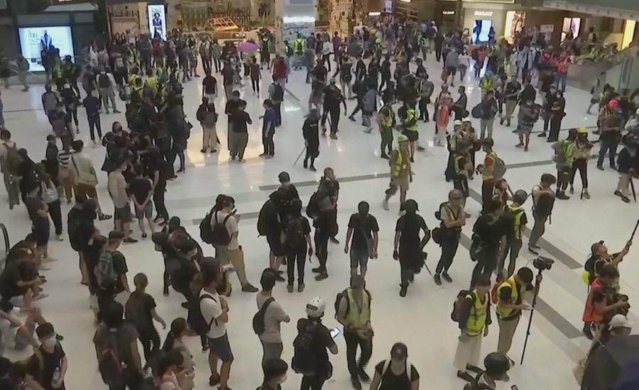 ہانگ کانگ میں حکومت مخالف مظاہرے جاری
