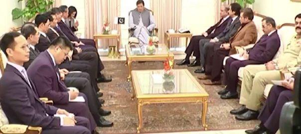 وزیراعظم ، عمران خان ، چینی وزیر خارجہ ، ملاقات، اہم ، معاملات ، بات چیت