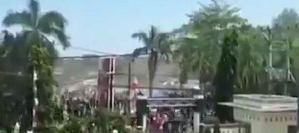 انڈونیشیا ، چھ اعشاریہ پانچ ، شدت ، زلزلے ، تباہی ، مچا ، چار افراد ، ہلاک