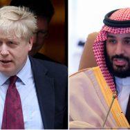 سعودی ولی عہد ، برطانوی وزیراعظم ،ٹیلیفونک رابطہ،آرامکو حملے، مذمت، ریاض،92 نیوز