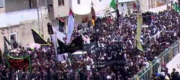 کراچی یوم عاشور حسینیہ ایرانیاں