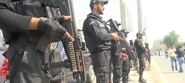 پاک سری لنکا سیریز نیشنل اسٹیڈیم کراچی سکیورٹی سخت 92 نیوز رینجرز 