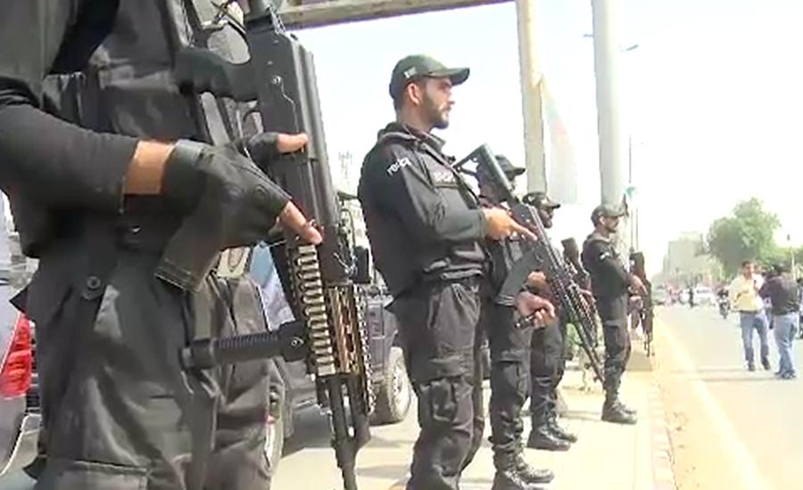 پاک سری لنکاسیریز ، نیشنل اسٹیڈیم کراچی کی سکیورٹی سخت