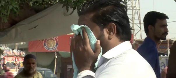 گرمی  حبس  اہلیان کراچی  پسینے  92 نیوز