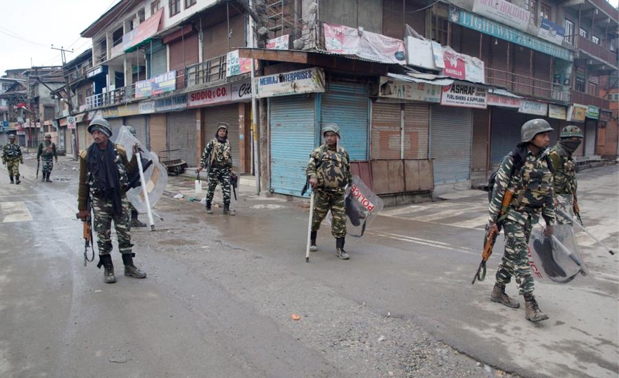 مقبوضہ کشمیر میں بدترین کرفیو کو 30 دن ہو گئے