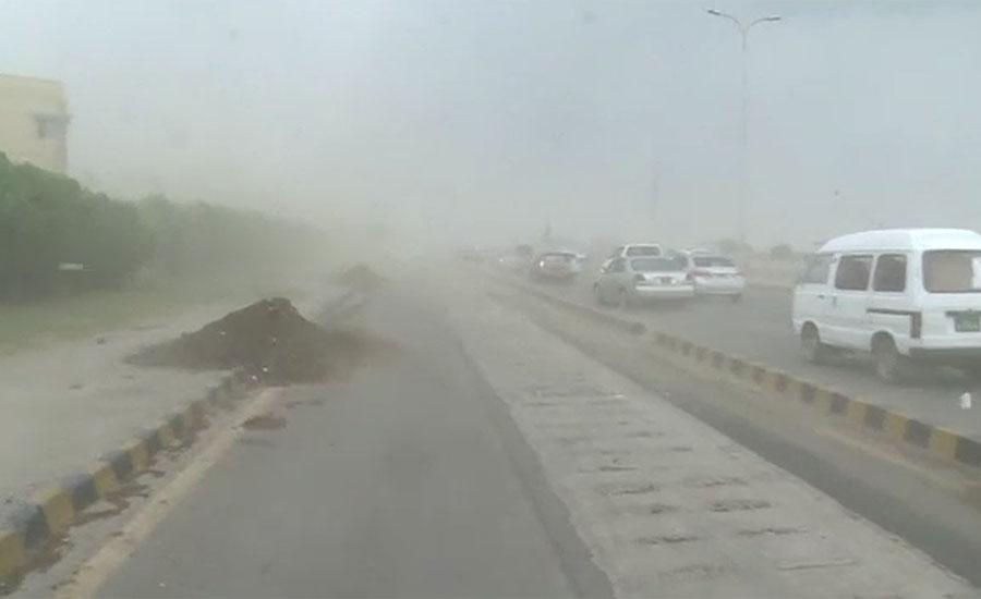 کراچی میں مون سون کا ایک اور اسپیل تیار ، شہر میں تیز ہواؤں کے بعد بارش