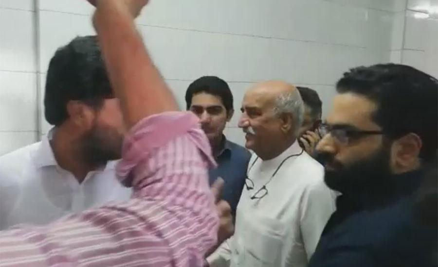 خورشید شاہ کو پولی کلینک اسپتال سے ڈسچارج کر دیا گیا