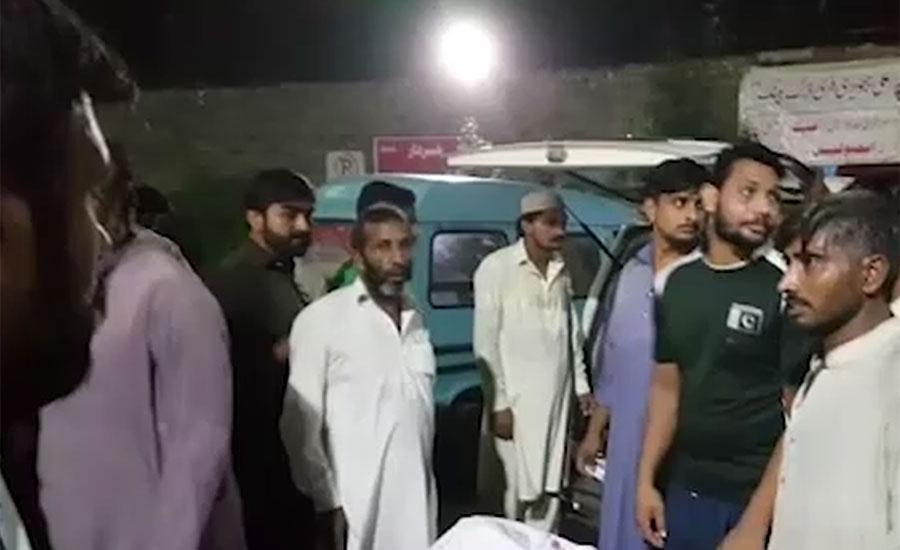 لاہور میں 2 مختلف حادثات میں 4 موٹرسائیکل سوار جاں بحق