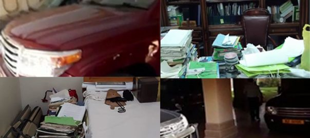 میئر کراچی ، مشیر ، باغات ، لیاقت علی ، گھر ، کروڑوں روپے ، مالیت ، لگژری گاڑیاں ، برآمد