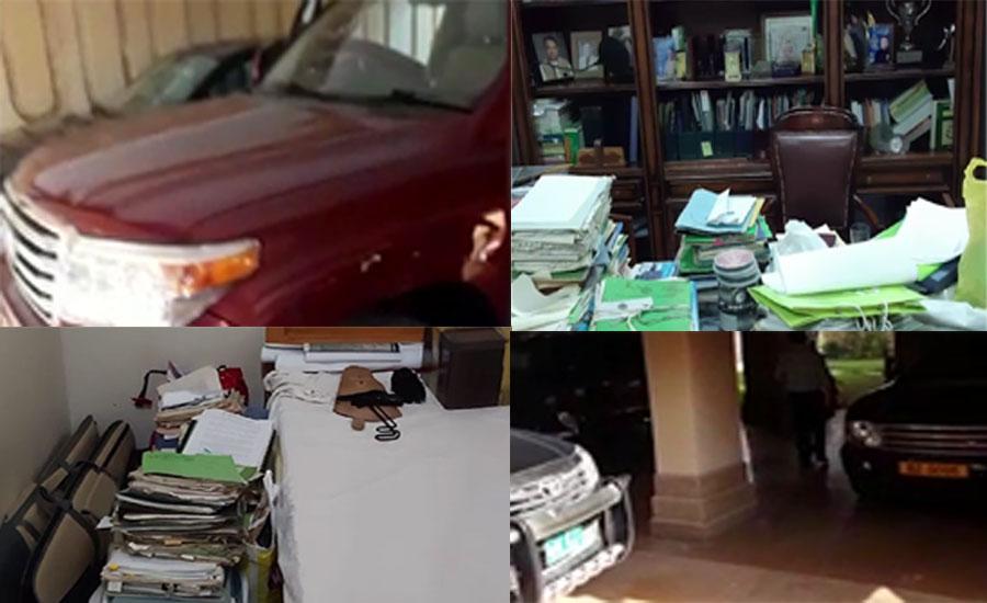میئر کراچی کے مشیر باغات لیاقت علی کے گھر سے کروڑوں روپے مالیت کی لگژری گاڑیاں برآمد