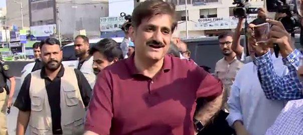 کراچی ،کچرا صاف ،مراد علی شاہ،جھاڑو اٹھالیا، علی زیدی، وسیم اختر 92نیوز