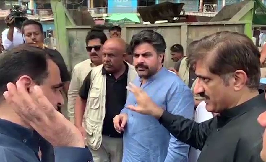 مراد علی شاہ کراچی کا کچرا اٹھانے کے لیے متحرک