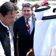 جدہ ، وزیر اعظم ، عمران خان ، رائل ٹرمینل ، مکہ ، گورنر ، خالد الفيصل بن عبد العزيز ، استقبال