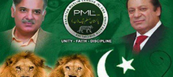 اندرونی اختلافات ن لیگ سندھ کراچی  ویب ڈیسک  مسلم لیگ