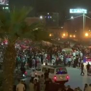 مصر ، صدر ، عبدالفتح السیسی ، کیخلاف ، سیکڑوں ، افراد ، مظاہرہ