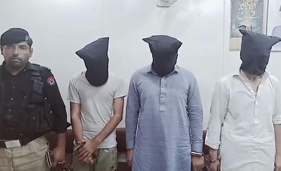 پشاور میں دوست کے ساتھ مل کر شوہر کے گھر ڈاکا ڈالنے والی خاتون گرفتار
