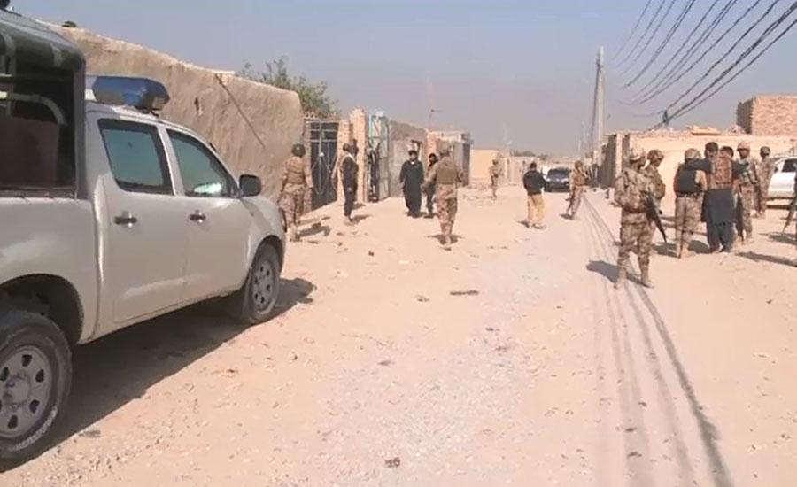 کوئٹہ مشرقی بائی پاس پر ہلاک دہشتگروں کا ساتویں محرم کے جلوس پر حملے کرنے کا انکشاف