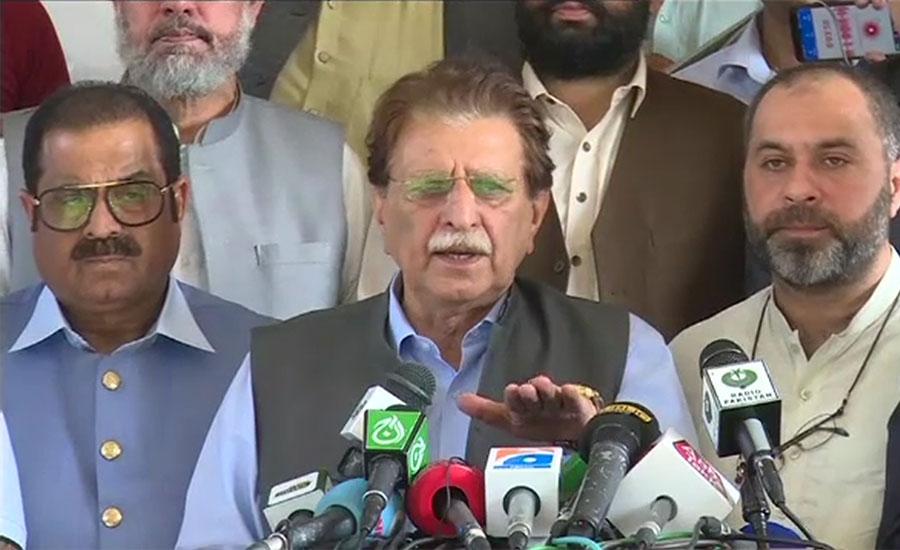 پاکستان کشمیریوں کا واحد وکیل ہے ، راجہ فاروق حیدر
